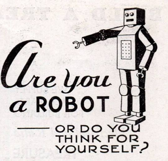 Meme – Are you a robot