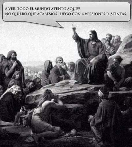 Meme – Biblia – Sermón de la montaña
