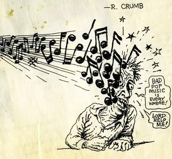Meme – Robert Crumb – La mala música pop