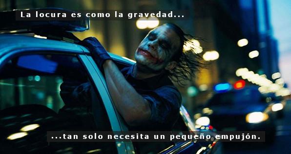 Meme – Película – Joker, la gravedad y un empujón