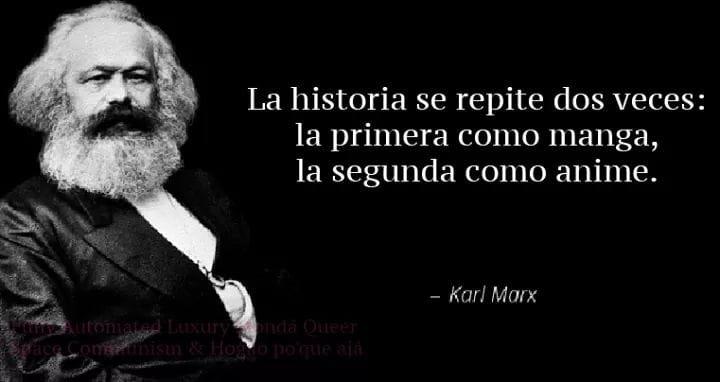 Meme – Karl Marx – Cita manga animé