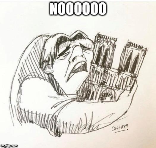 Meme – Jorobado de Notre Dame – Incendio Notre Dame