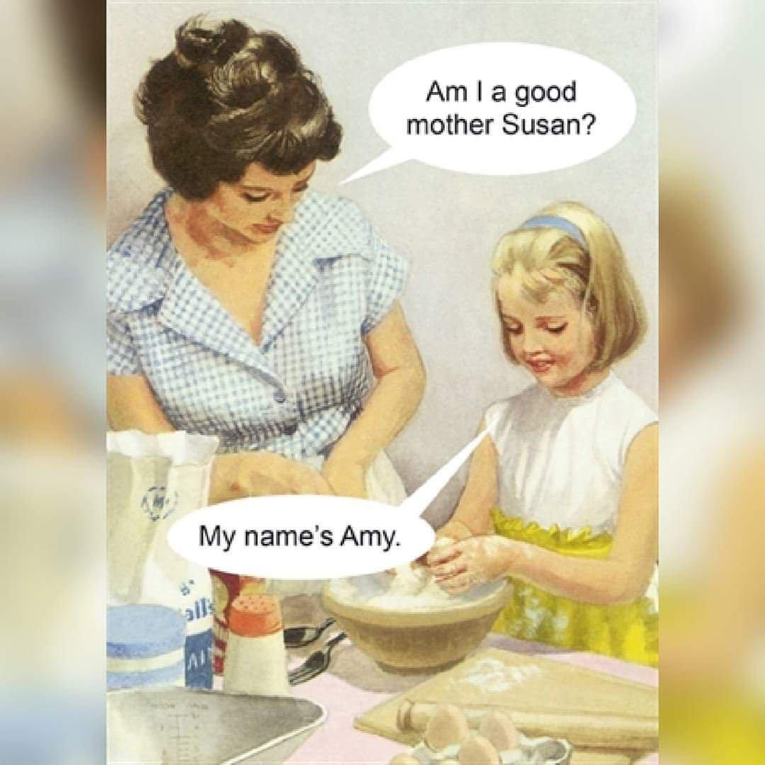 Meme – Publicidad antigua – ¿Soy buena madre?