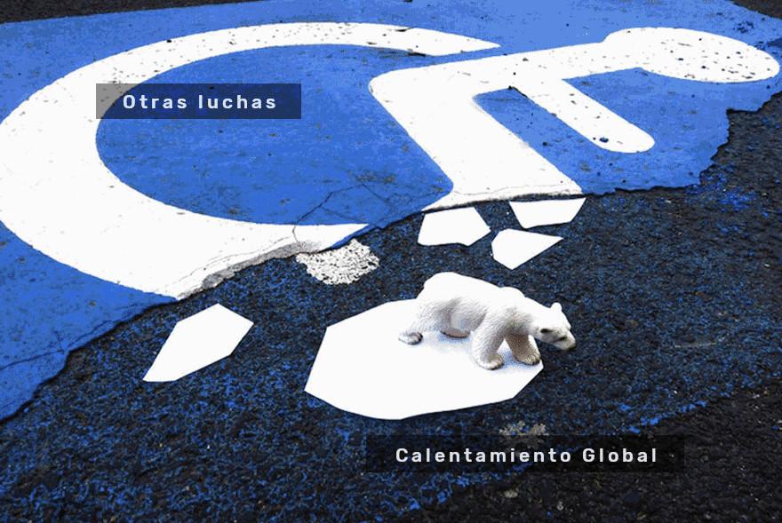 Meme – Street Art – Oakoak Calentamiento global